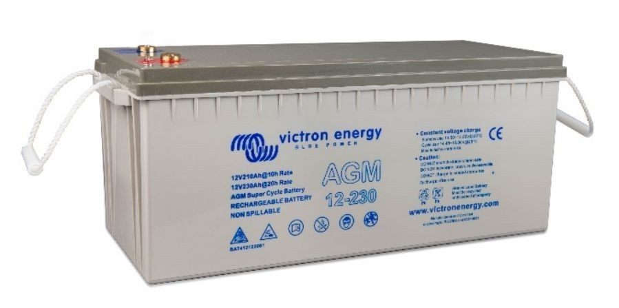 Victron Energy SUPER CYCLE AGM 230Ah-12V